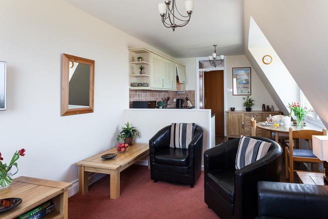 Sociable living space.