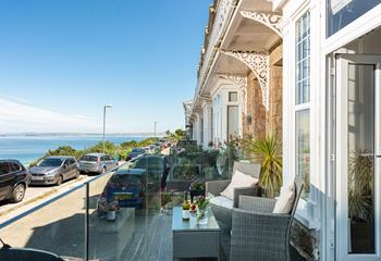 14 Draycott Terrace, Flat 1 in Porthminster