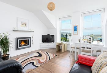 14 Draycott Terrace, Flat 3 in Porthminster