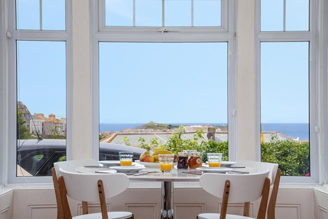 Dine while you watch the sea views and ever changing scenery.