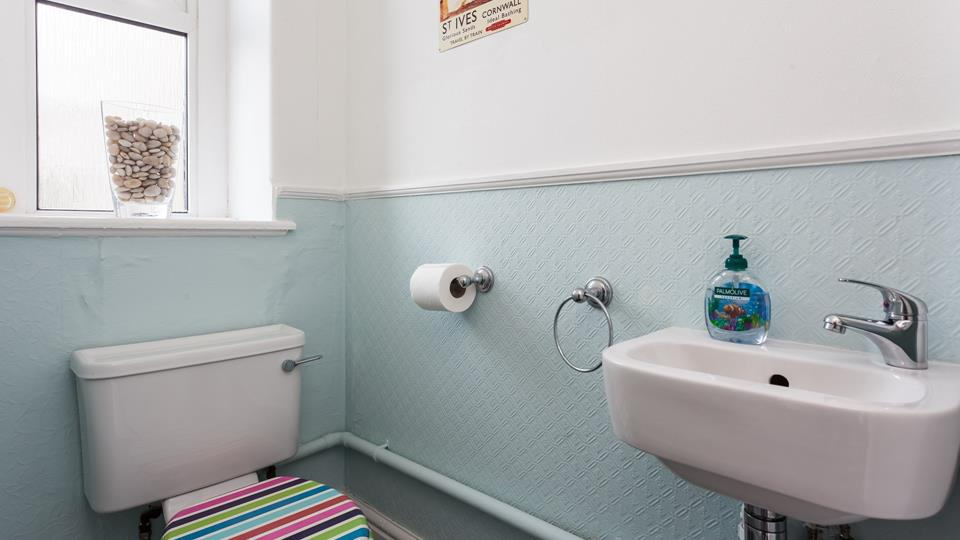 The property benefits from a convenient cloakroom.
