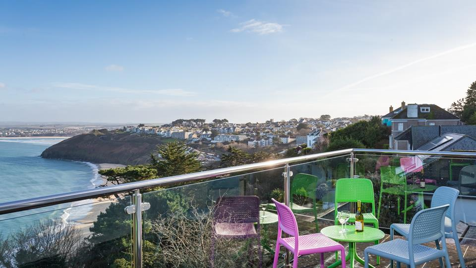 With unparalleled views across Carbis Bay, you won't want to leave.
