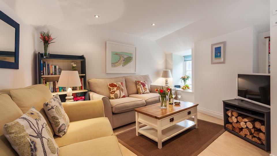 Living area where you enter the property.