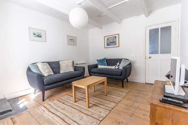 Traditional Cornish cottage.