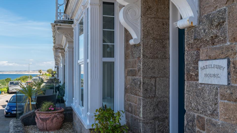 This gorgeous property retains many of its original features.