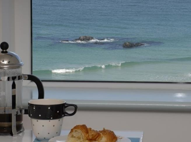 View whilst making a cuppa!