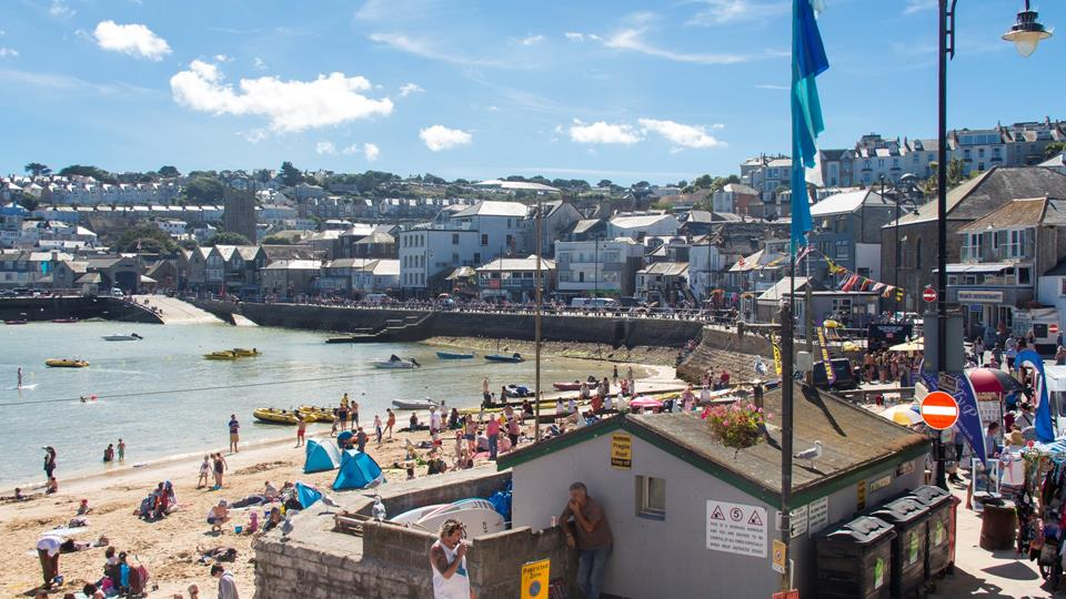 Enjoy the hustle and bustle of this magical seaside town.