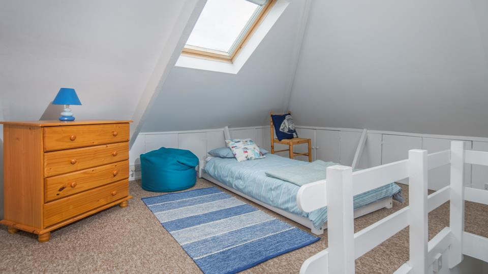 Bedroom 3 is also perfect for teenagers wanting their own space.