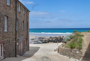 By the Beach in Porthmeor