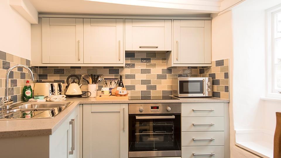 Cosy kitchen on the ground floor.