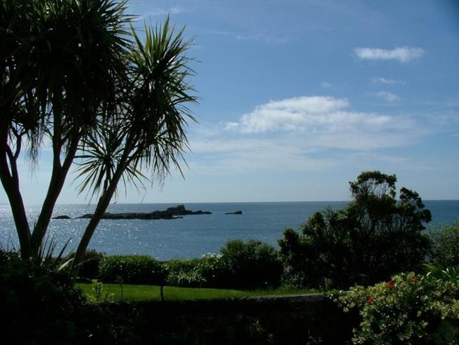 Beautiful sea view from the front garden