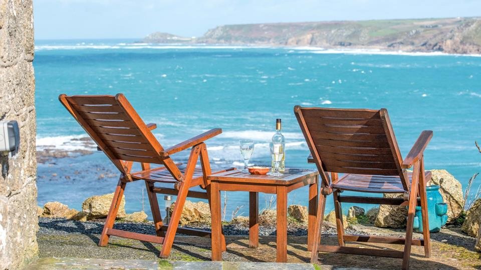 Spend the day enjoying the picturesque surroundings with a glass of wine - the perfect place to unwind.