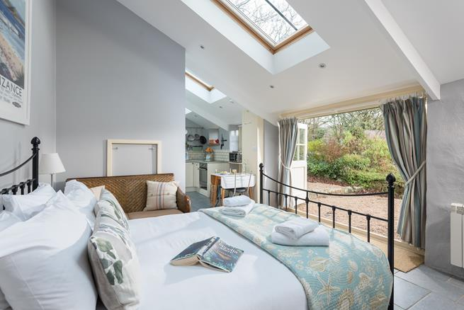 Enjoy the peaceful surroundings in your cosy retreat for two.