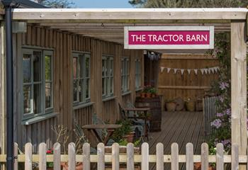The Tractor Barn in Hayle