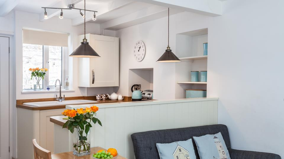 Open plan living makes it easy to socialise and be close to your nearest and dearest.