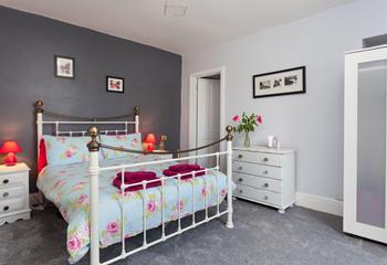 Spacious double bedroom with en suite shower room.