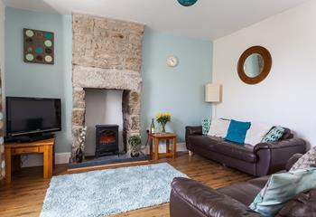 Vine Cottage is elegant with intriguing traditional features.