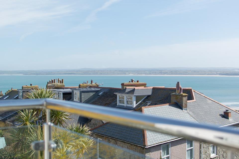 Stunning views from Master bedroom balcony.