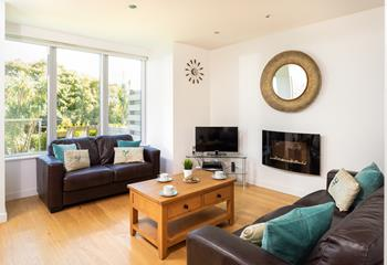 Ocean View Apartment in Porthminster