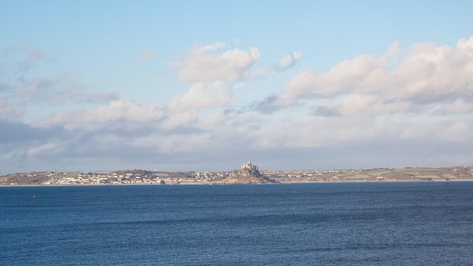 Views of St Michaels Mount can be seen from Morningtide.
