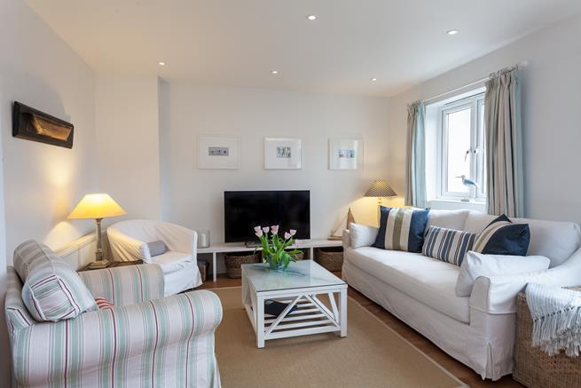 Relax in the spacious sitting room.