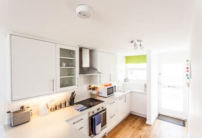 Very well equipped kitchen area.