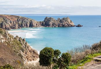 Logan's Reach in Porthcurno