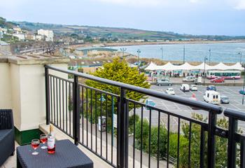 The Wharfside Penthouse in Penzance
