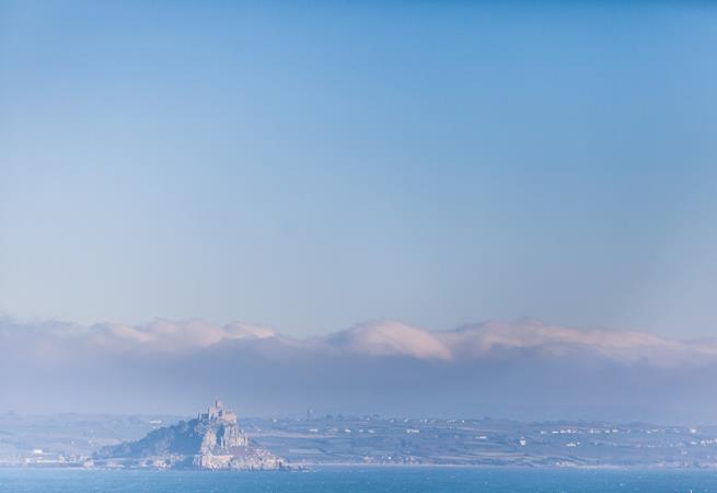 Sea Salt is a reverse level apartment with amazing views that stretch as far as St Michael's Mount.