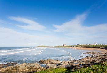 Fistral Beach Apartment in Newquay