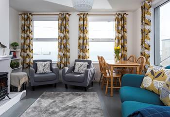 Rough Seas Apartment in Porthmeor