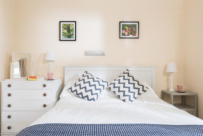 Take a cup of tea back to bed in your cosy double bedroom each morning.