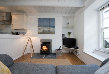 Abbey Cottage, Sleeps 3 + cot, Mousehole.