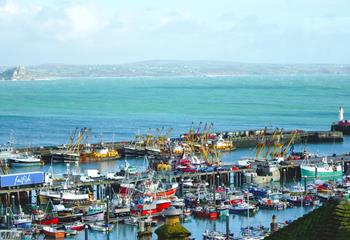 Blue Waters in Newlyn