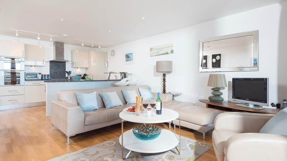 Open plan living area, great for all the family