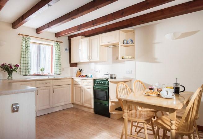 Kitchen/dining area.