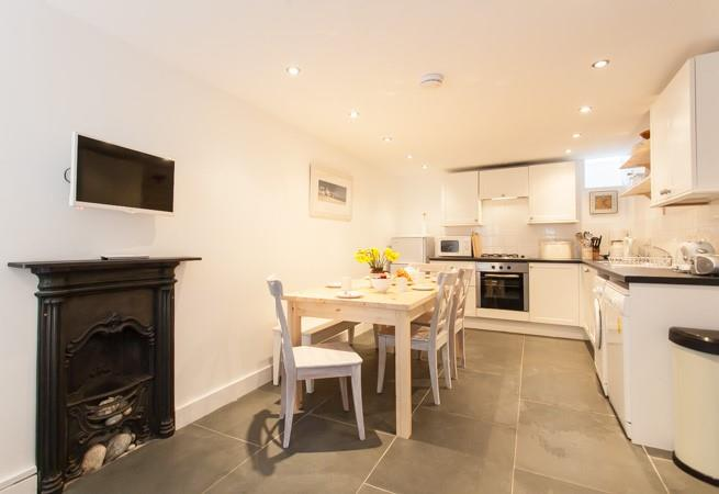Attractive open plan Kitchen and Dining Room.
