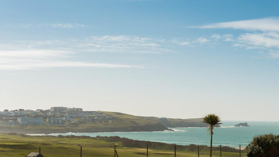 Fistral beach is only a two minute stroll away and Newquay golf course just across the way, where you can enjoy a game with some of the best views around.