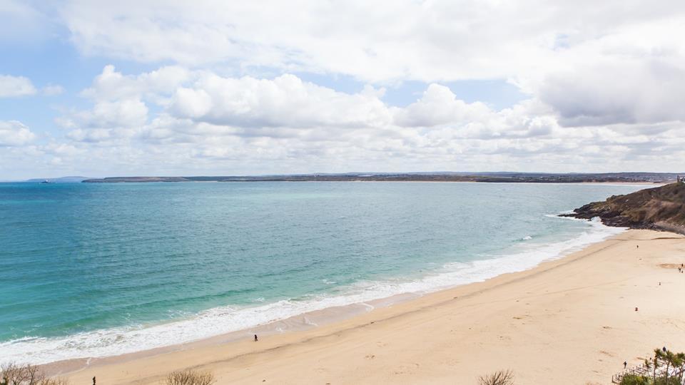 Stunning Porthminster beach.