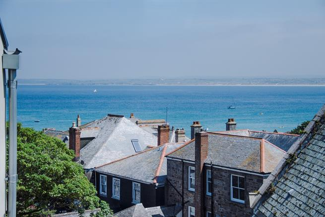 Views over St Ives Bay