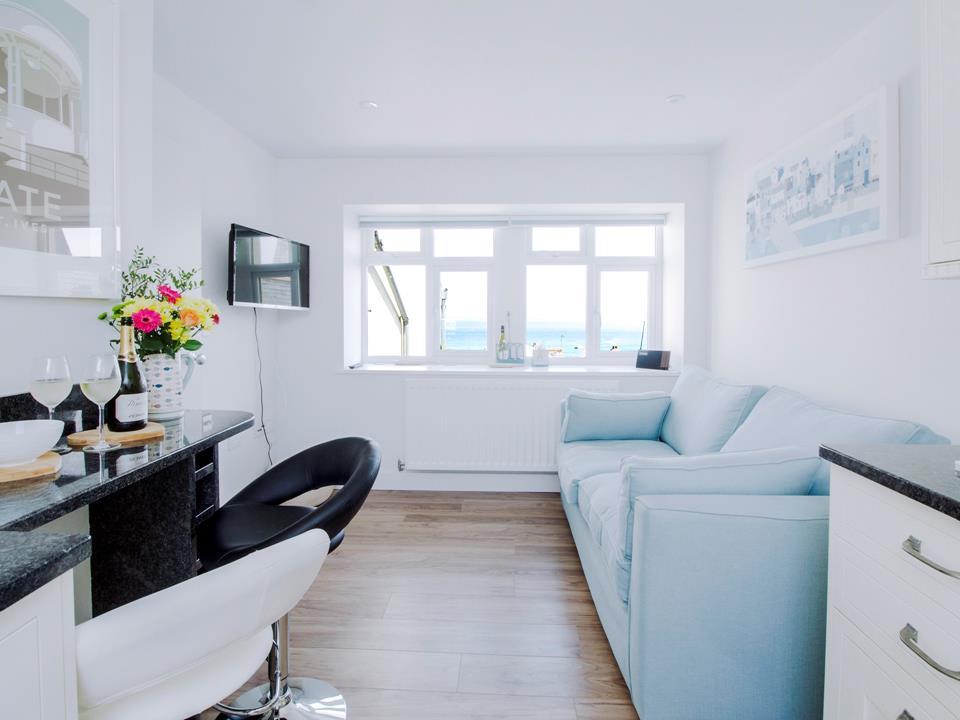Kitchen/sitting/dining room with TV/DVD & DAB radio