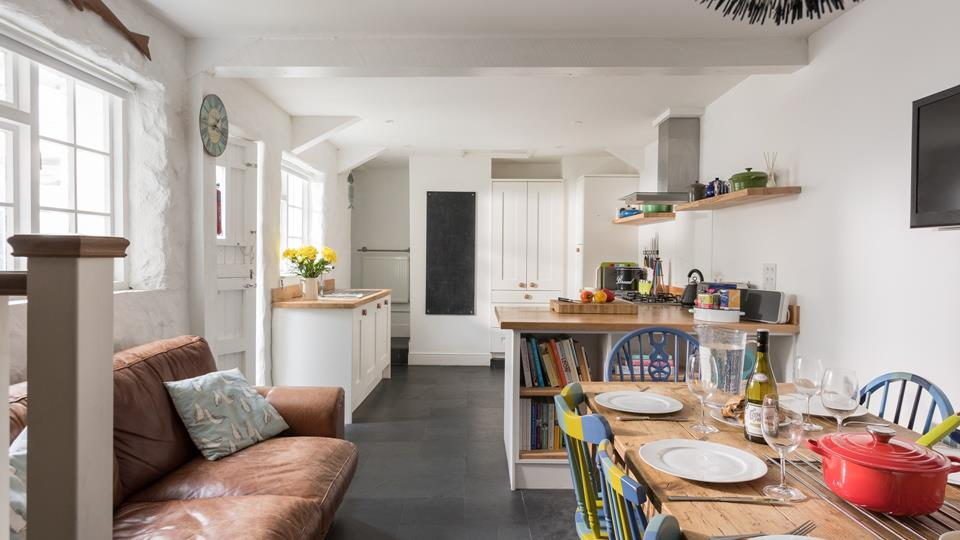 Quirky and traditional this cottage has everything you need for your Cornish holiday.