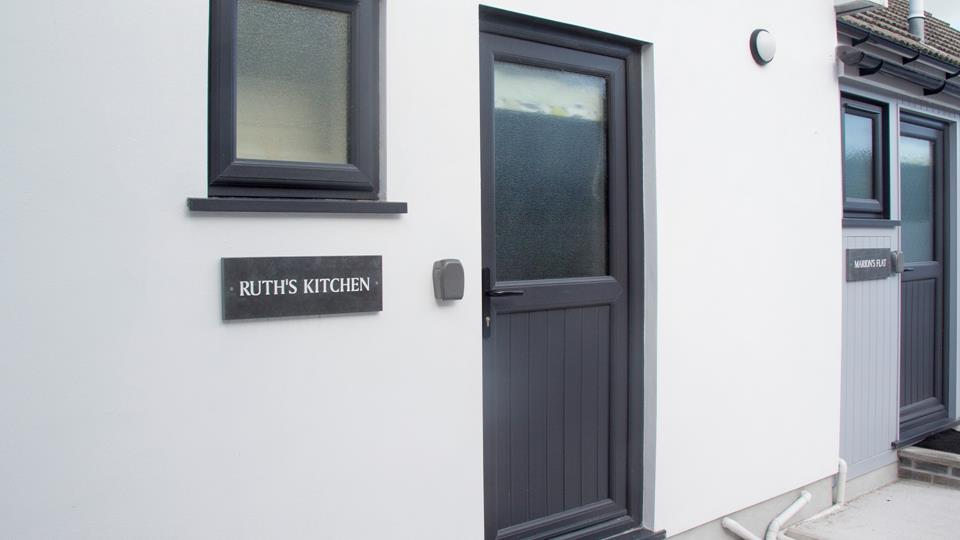 Ruth's Kitchen is next door to Marion's flat.