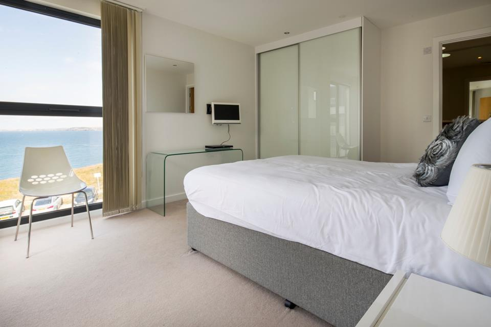 Bedroom one is on the ground floor, with zip and link beds making it a great room for couples and children alike.