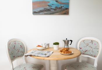 Enjoy a tasty breakfast before heading off to explore Newquay and the surrounding area!