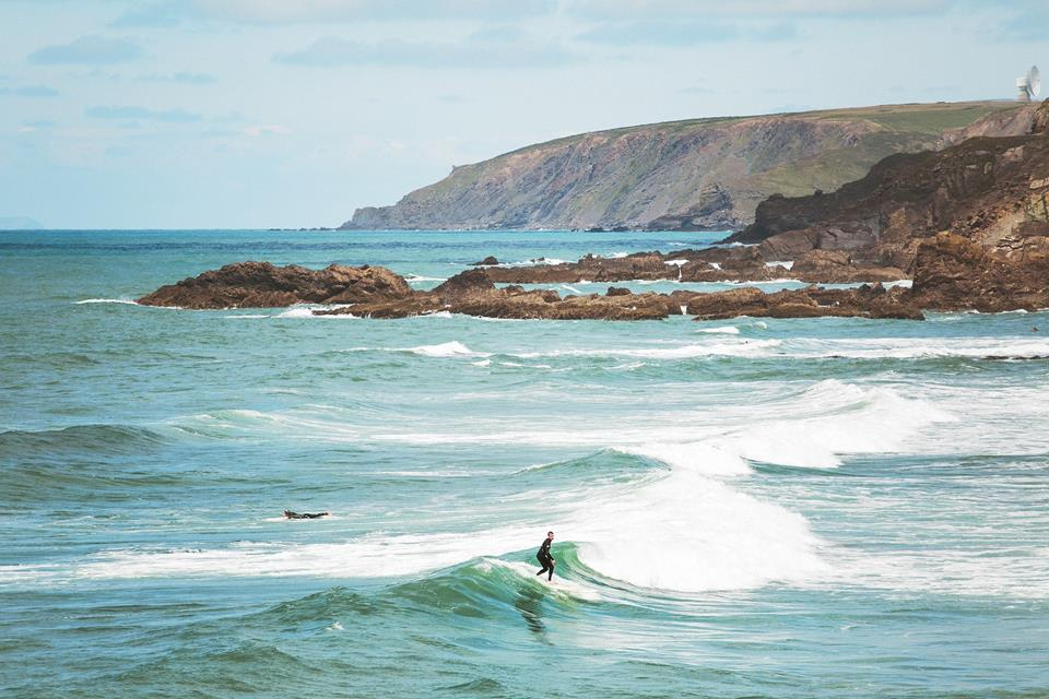 Surfing and swimming are really popular and there are surf schools offering lessons to improve your skills