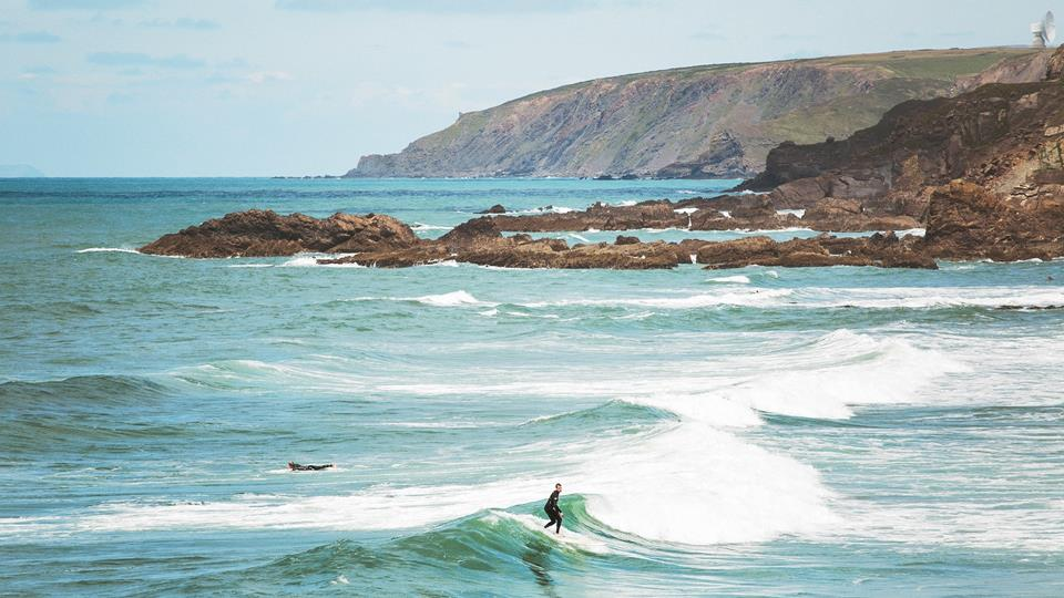 Surfing and swimming are popular in Bude, with surf schools offering lessons to improve your skills.