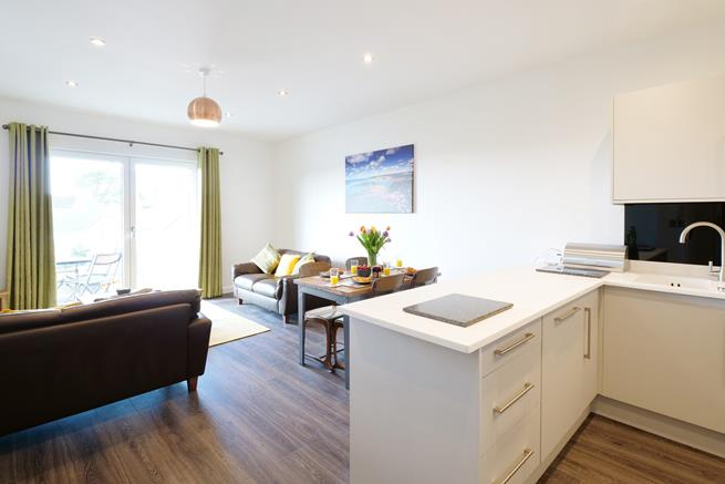 Lovely open plan living space for launching your holiday experience