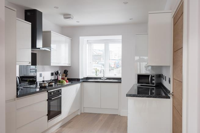 You can enjoy cooking up a delicious Cornish feast in the modern kitchen.