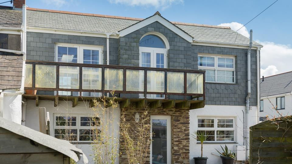 With a balcony from bedroom two, you can step out of bed and take in the fresh Cornish air in the mornings.